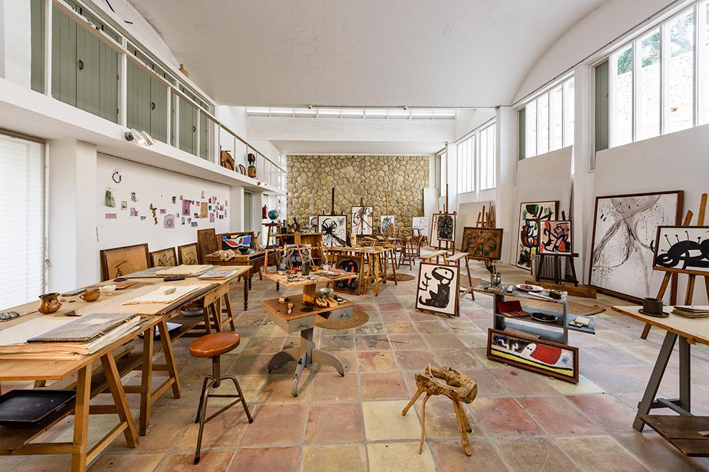 Joan Miró's art studio